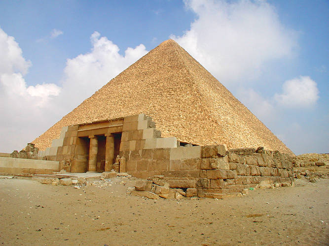 Великая Пирамида, гора Синай и Масличная гора